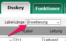 Yealink T46: Bereite Labels einstellen